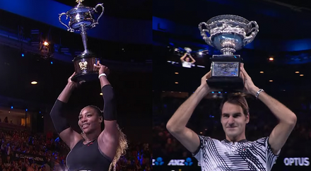Roger Federer and Serena Williams Tipped For Australian Open Glory