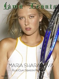 Maria Sharapova Lawn Tennis Magazine Cover