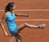 Amelie Mauresmo French Open