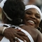 Serena Williams Hugs Venus Willians At Wimbledon 2009, Lawn Tennis Magazine