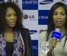 Serena Williams, Venus Williams Columbia Exhibition
