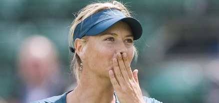Maria Sharapova Wins In Grasscourt Debut, Lawn Tennis Magazine