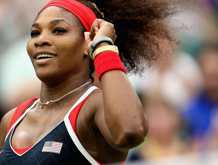 Serena Williams Into Saturday's Gold Medal Match