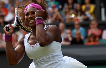 Serena Williams Hits 23 Aces To Advance, Wimbledon 2012